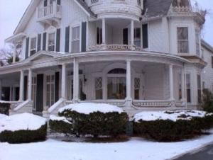 Sabrina the Teenage Witch House winter